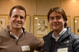 Foto 8. (Izq a Der.) Facundo Porolli, Gerente Comercial, Agrosuper y Felipe Gonzalez, Gerente Comercial, Mapcity.com