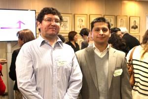Foto 4. (izq a Der.) Pablo Covacevich, Jefe de Revenue, Melón y Sebastián Prado, Gerente de Marketing, Melón.